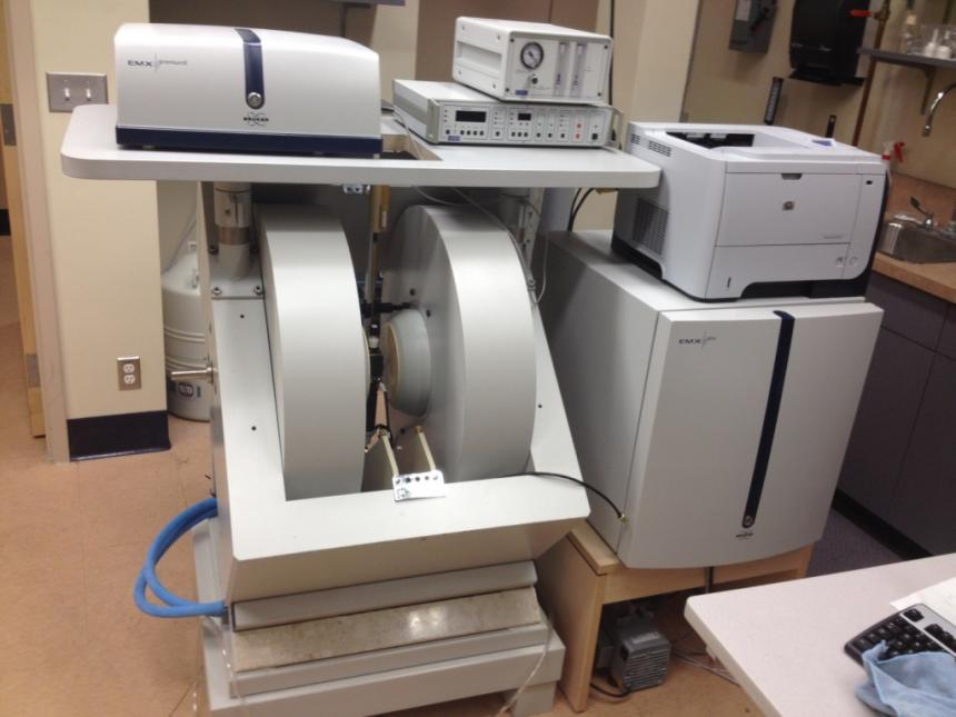 A state of the art EPR spectrometer will soon be available for use at UGA.