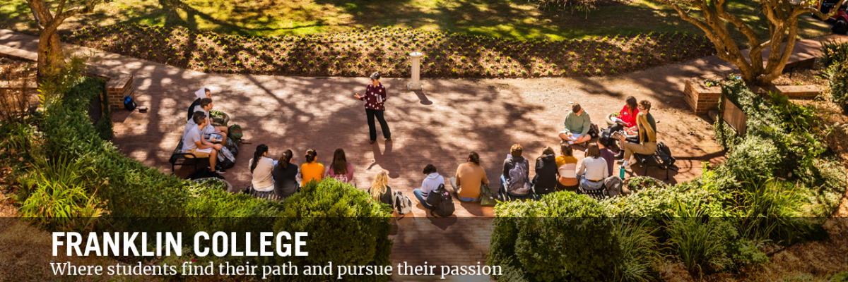 From graduate degrees to experiential learning, the Franklin College will help unlock your potential