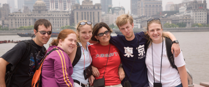 Students in Study Abroad in China