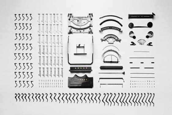 typewriter parts - photo