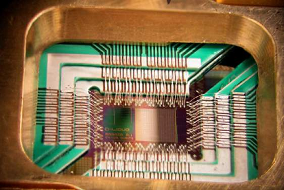 photo of computer chip and holder