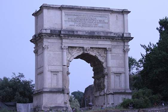 arch of Titus, photo